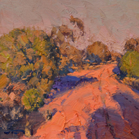 Colour of Closing Day Cobar 30x30cm