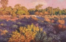 A Western Sunset, Silverton 60cm x 90cm