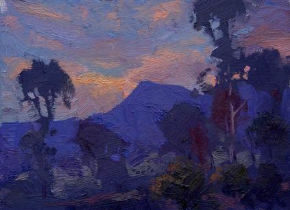 First light near Glen Alice 2004