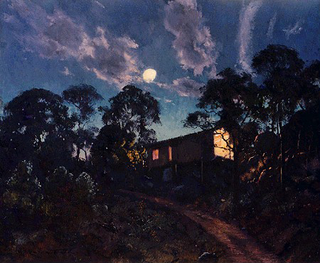 Moonrise Over The Studio