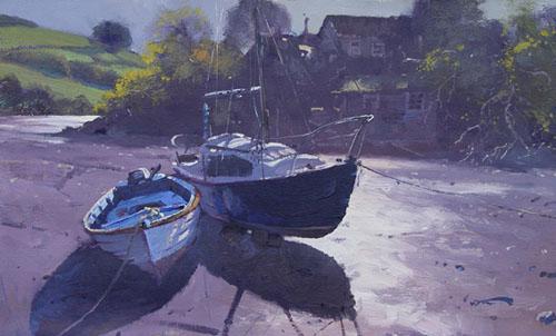 Boats Morning Light