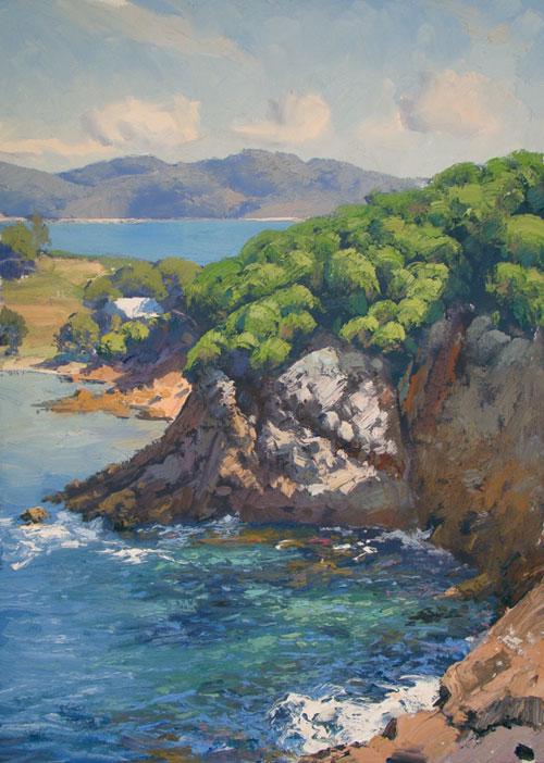 Colour in the Cove, Eden 60x45cm