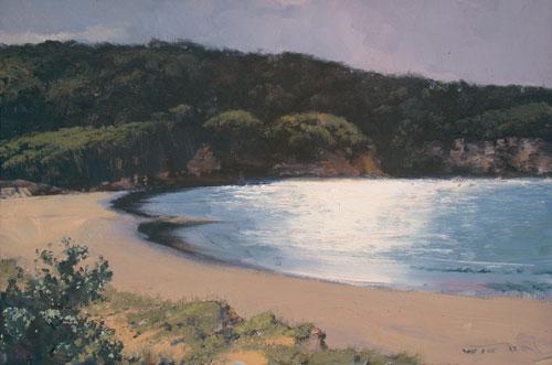 Deserted Beach, Eden 30x45cm