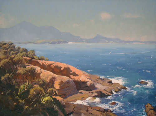 Ghost of Zane Grey, Bermagui 45x60cm