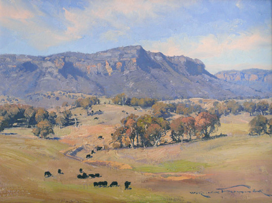 """Grazing in the Valley 18x24"""""""