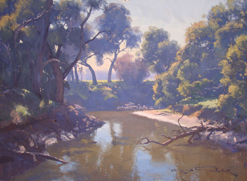 Morning on the Lachlan