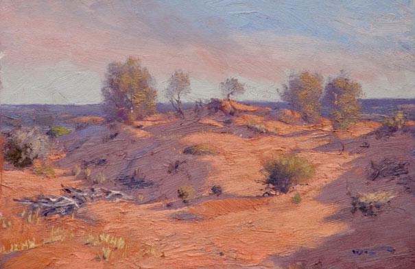 Sunrise across the Dunes