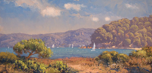 Sailing Patonga 30x60cm