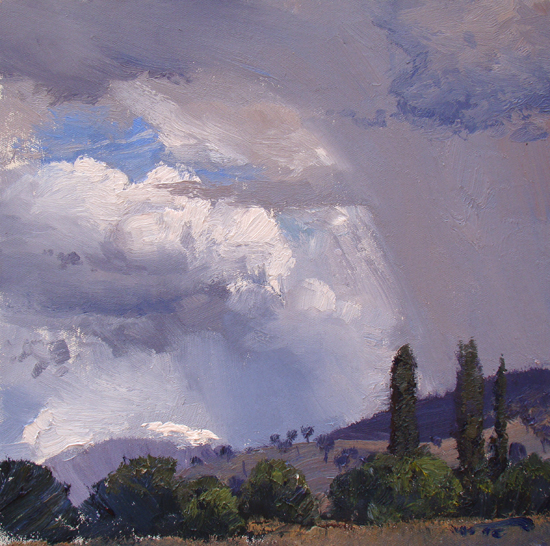 Sketch for Summer Squall, Corryong