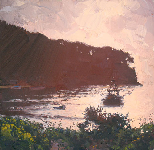 The Glory of Morning Patonga 30x30cm