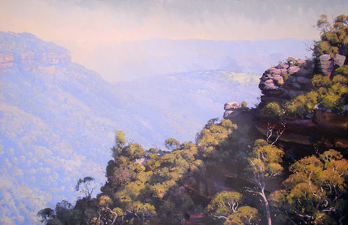 Valley Burn, Blue Mountains