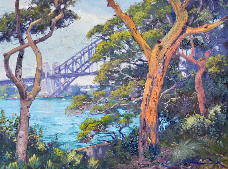 Harbour View from Admiralty House 45 x 60cm