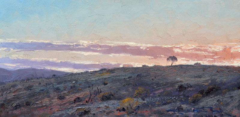 Silverton Sunrise.30x60cm