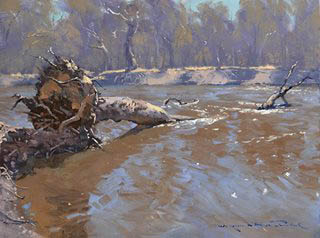 Murray River Flow 45x60cm