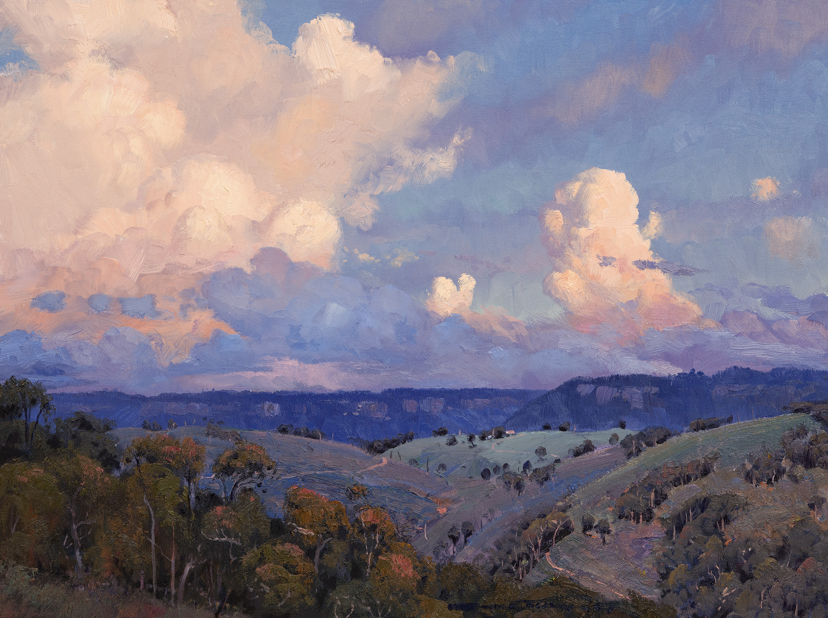 Sunset Cloud Over Katoomba 60x81cm