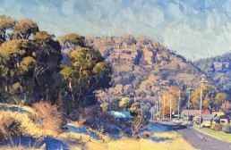 Frosty Winter Morning, Lithgow 45 x 60cm