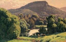 Maroochy River, Rosemount 45x45cm