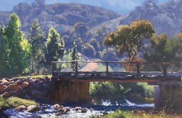 Bridge over Micalong Creek, Wee Jasper 45cm x 60cm