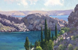Croatian Coastal Colour 45cm x 60cm