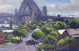 Remnants of Old Sydney 45cm x 60cm