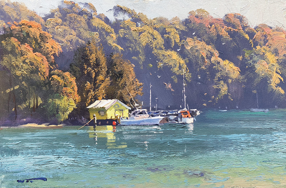 pretty-yellow-boatshed.-30x45