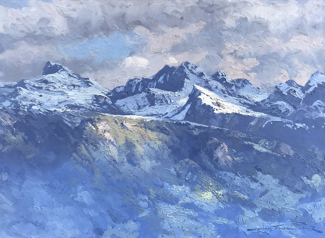 spring-in-the-swiss-alps,-sion.-61cm-x-81cm